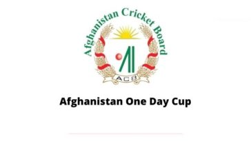 Afghan One Day Cup 2020 points table and standings