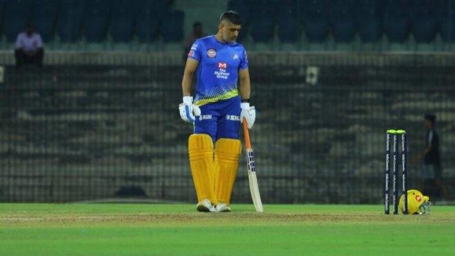 CSK skipper MS Dhoni hits nets in Ranchi ahead of IPL 2020