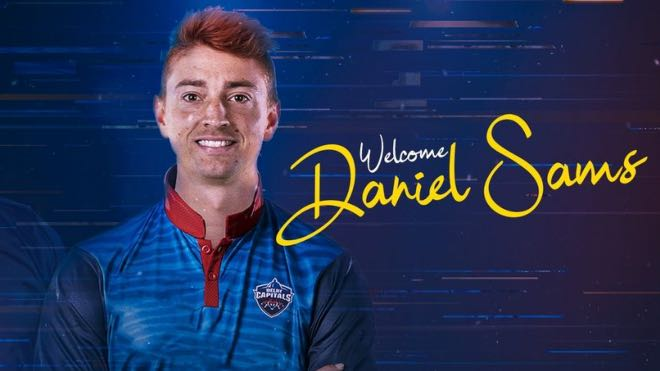 Daniel Sams joins Delhi capitals as Jason Roy replacement