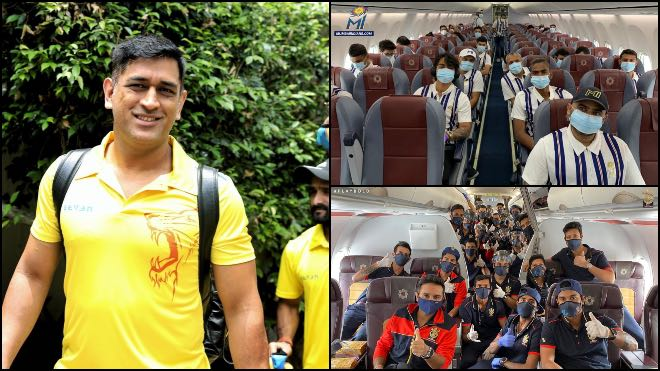 IPL 2020: CSK, MI and RCB players depart for UAE