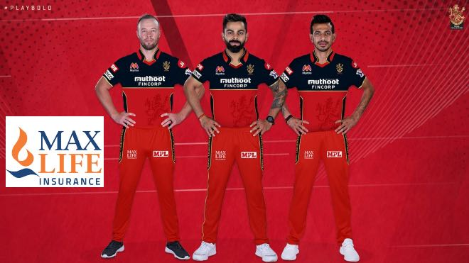 IPL 2020: RCB ropes in Max Life Insurance as the official life insurance partner