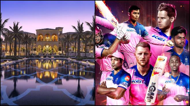 IPL 2020: Rajasthan Royals: One & Only The Palm, Dubai