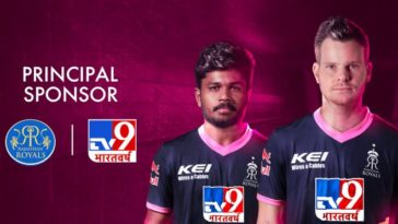 IPL 2020: TV9 Bharatvarsh replaces Dubai Expo as Rajasthan Royals principal sponsors