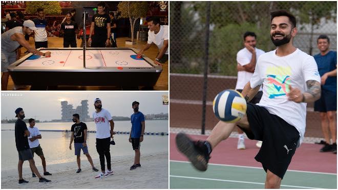 In Photos RCB team bonding and training session in Dubai