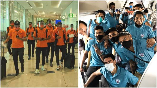 In Photos: Sunrisers Hyderabad and Delhi Capitals reached UAE for IPL 2020