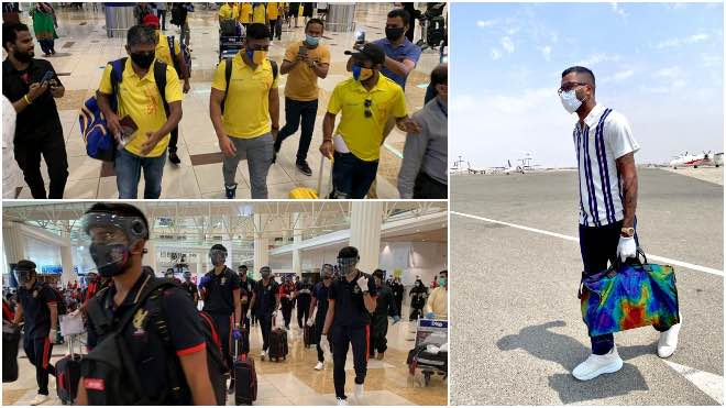 In Photos: MI, CSK and RCB reached UAE for IPL 2020