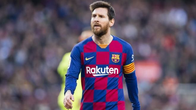 Lionel Messi Top Scorers in Europes Top Five Leagues in 2019/20