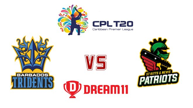 Match 2 BAR vs SKN Dream11 Team Prediction, Playing XI and Top Picks: CPL 2020
