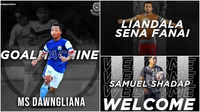Mohammedan Sporting signs Liandala Sena Fanai MS Dawngliana and Samuel Shadap