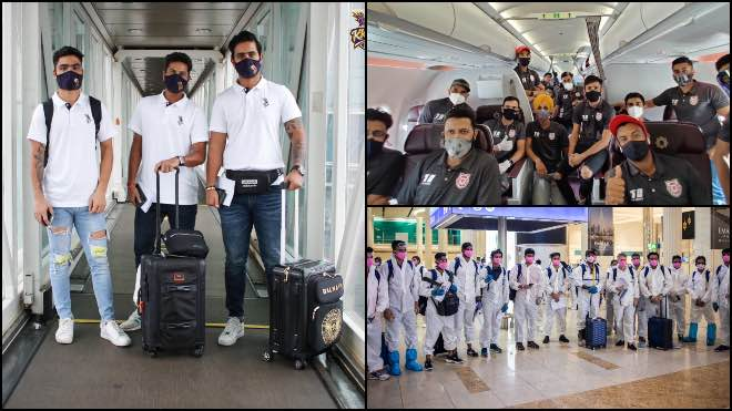 RR KXIP and KKR reached UAE for IPL 2020