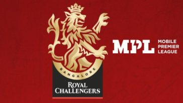 Royal Challengers Bangalore signs MPL as a new sponsor for IPL 2020