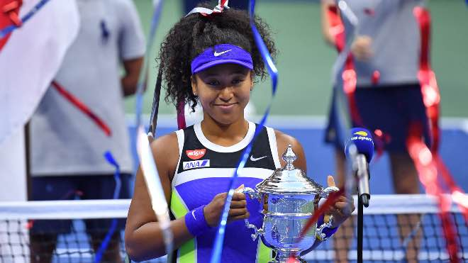 22-year-old Japanese Naomi Osaka wins 2nd US Open title in 3 years