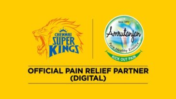 Amrutanjan announces association with Chennai Super Kings as Official Pain Relief Partner