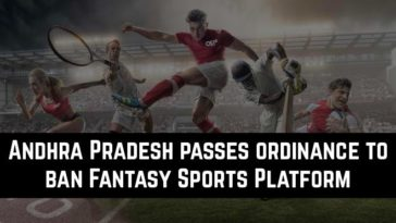 Andhra Pradesh passes ordinance to ban Fantasy Sports Platform