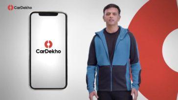 CarDekho signs Rahul David as the brand ambassador
