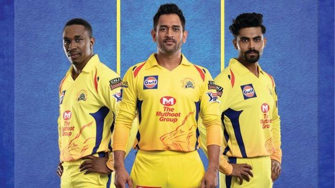 Chennai Super Kings Sponsors and Kit for IPL 2020