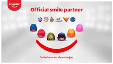 Colgate is the official Smile Partner for 6 teams in IPL 2020