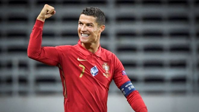 Cristiano Ronaldo becomes second male footballer to score 100 international goals