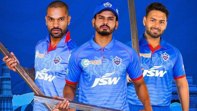 Delhi Capitals Sponsors and Kit for IPL 2020