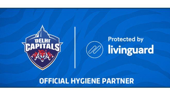 Delhi Capitals announces Livinguard AG as the official hygiene partner for IPL 2020