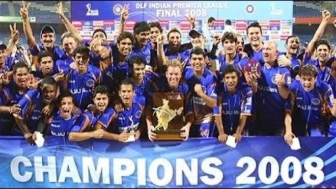 IPL 2008: Rajasthan Royals