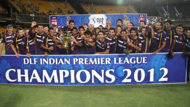 IPL 2012: Kolkata Knight Riders