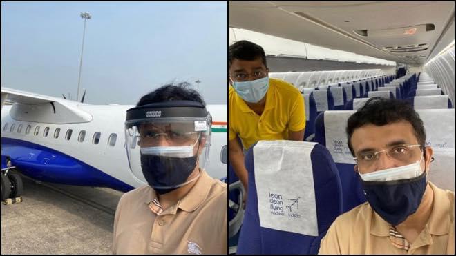IPL 2020: BCCI President Sourav Ganguly leaves for UAE
