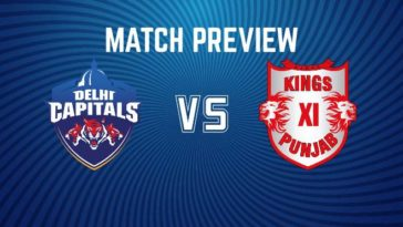IPL 2020 Match 2 DC vs KXIP Match Preview, Head to Head, Stats and Trivia