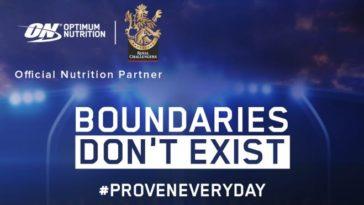 IPL 2020: Optimum Nutrition announces association with Royal Challengers Bangalore