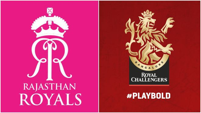 IPL 2020: RCB and RR exchange friendly banter for using the incorrect logo