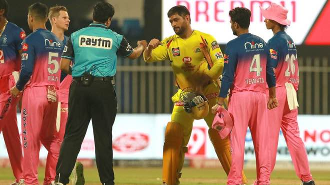 IPL 2020: Rajasthan Royals beat Chennai Super Kings by 16 runs