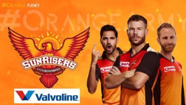 IPL 2020: SunRisers Hyderabad ropes in Valvoline as a principal sponsor