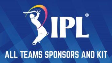 IPL 2020 Team Kits and Offical Sponsors