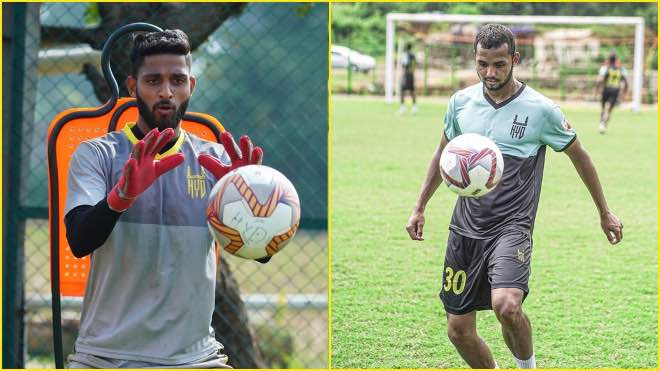 ISL 2020-21: Anuj Kumar and Nikhil Prabhu extends contract with Hyderabad FC