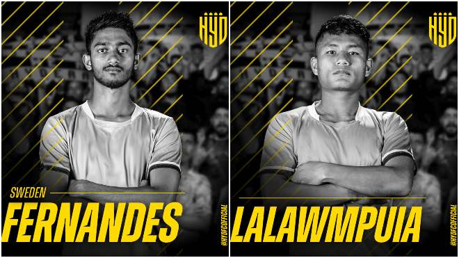ISL 2020-21: Hyderabad FC signs youngsters Lalawmpuia and Sweden Fernandes