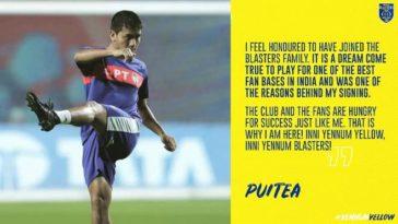 ISL 2020-21: Kerala Blaster FC signs versatile Puitea