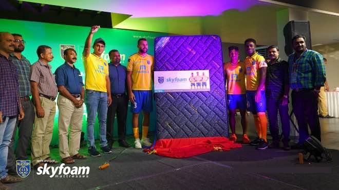 ISL 2020: Skyfoam mattresses renew association with Kerala Blasters FC