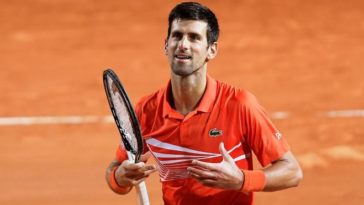 Italian Open 2020: Djokovic receives obscenity warning during the semi-final