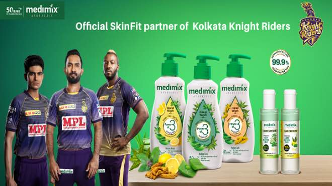 Kolkata Knight Riders rope in Medimix as Skin-Fit and Hygiene Partner for IPL 2020