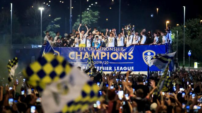 Leeds United fined for title celebration amid COVID-19 pandemic