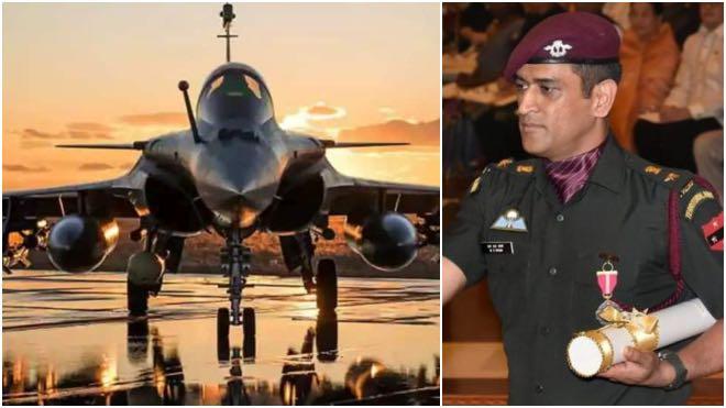 Lt. Colonel MS Dhoni hails Rafale jets but Sukhoi Su-30MKI his favourite