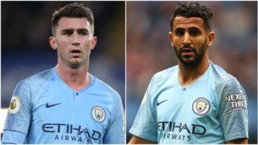 Manchester City's Riyad Mahrez and Aymeric Laporte tested positive for Coronavirus