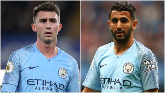 Manchester City's Riyad Mahrez and Aymeric Laporte tested positive for Coronavirus