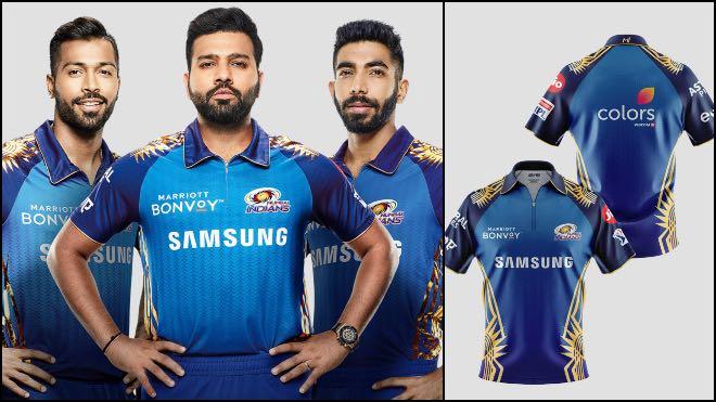 Mumbai Indians Sponsors and Kit for IPL 2020