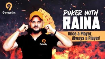 Online poker platform 9stacks signs Suresh Raina as brand ambassador