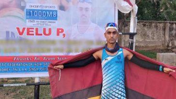 Para Brigade Jawaan Naik Velu P: First Indian ultra-runner to break the Asian Record