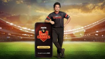 Paytm subsidiary Paytm First Games ropes in Sachin Tendulkar as the brand ambassador
