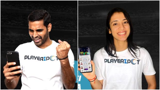 PlayerzPot ropes in Smriti Mandhana and Bhuvneshwar Kumar as brand ambassador