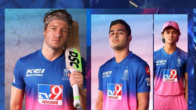 Rajasthan Royals Sponsors and Kit for IPL 2020