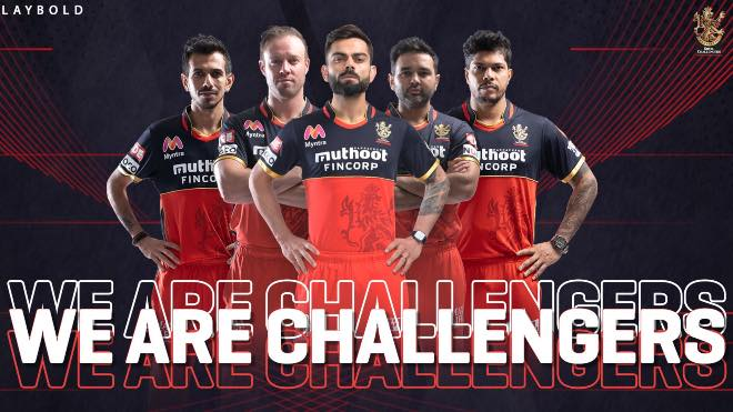 Royal Challengers Bangalore Sponsors and Kit for IPL 2020